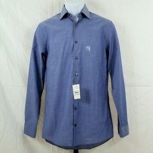 JF J.FERRAR Long Sleeve Button Down Shirt NWT